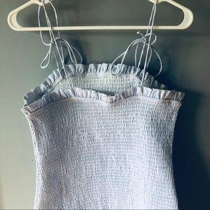 Southern Jewelz Dresses - Southern Jewelz baby blue ruffle dress